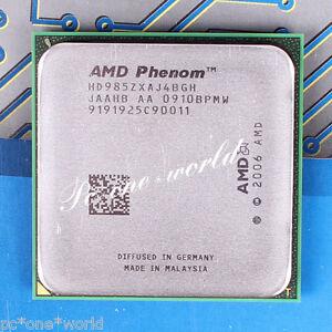 100% OK HD9850XAJ4BGH AMD Phenom X4 9850 2.5 GHz 125W Quad-Core Processor CPU