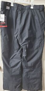 NWT ZeroXposur Mens Insulated Snow Pants-Black--MSRP-$100.00 Size XL