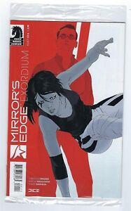 MIRROR'S EDGE Exordium #1  IDW comics,Poly bagged edition.Mint