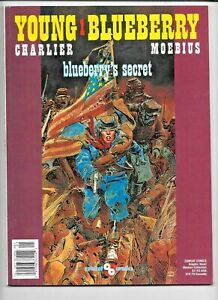 Young Blueberry 1 Secret Charlier Moebius 1989 VF+ Heavy Metal Artist 0874160685