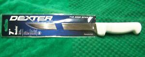 "DEXTER RUSSELL BASICS P94812 7"" FLEXIBLE NARROW FILLET SKINNING FISH KNIFE NEW"