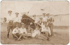 RPPC WW1 ARMY SERVICE CORPS ASC 'ALL THAT LEFT OF 'EM' 1913 GOOD COND. POSTCARD