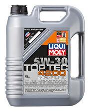 ENGINE OIL Liqui Moly Top Tec 4200 5W30 8973 3707 - 5 Litre ACEA A3 A5 B4 B5 C2