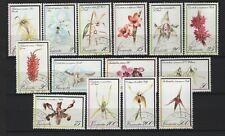 Vanuatu - 1982 Orchids Set Used