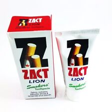 Whitening Toothpaste ZACT LION Tooth Enamel For Smokers Fresh Breath 90 g