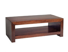 Less than 60cm Height Mango Wood Contemporary Coffee Tables