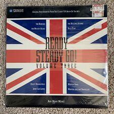Ready Steady Go Volume 3 Laserdisc - Beatles,Stones - VERY RARE - BRAND NEW