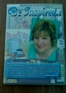 CREATIVE EXPRESSIONS BE INSPIRED WITH JAYNE NESTORENKO TUTORIAL DVD FREE UK POST