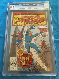 Amazing Spider-Man Annual #22 - Marvel - CGC 9.4 NM - 1st app. of Speedball