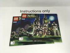 ONLY instructions books 1-2 Lego 9468 Vampyre Castle Monster Fighters; no bricks