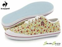 Le Coq Sportif Women Shoes Casual Grandville Cvo Flowers 1511035 Trainers New