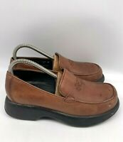 Dansko Womens Comfort Clogs Leather Mules Slip On Shoes Brown Size 38 US 7.5-8