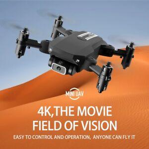 Mini Drone 4KBlack HD Camera WiFi Fpv Altitude Hold Foldable Quadcopter RC Drone