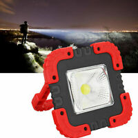 100W USB Rechargeable Solar LED COB Work Light Camping Emergency Lamp Floodlight
