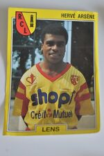 PANINI VIGNETTE STICKERS FOOTBALL FOOT 92 N°74 LENS HERVE ARSENE