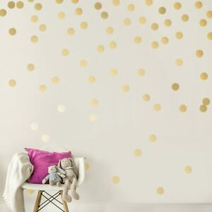 Polka Dot Wall Stickers Circle Children's Bedroom Decal Nursery Wall Art Sticker