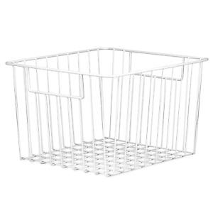 Pack of 2 Mesh Wire Storage Baskets Home, Kitchen & Garden Organisers M&W