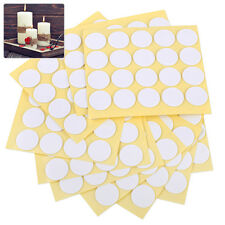 20mm Candle Making Wick Stickers 200 Dots Glue Paste Balloon Double Sided Sticky