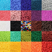 2800 Pcs 12/0 Multicolor Beading Glass Seed Beads 2mm Opaque Round Spacer Beads