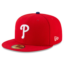 Philadelphia Phillies New Era MLB AC On-Field Game 59FIFTY Fitted Hat - Red