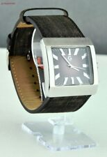 FREE Ship USA Men Prime Watch GUESS Black Leather Classic New Stylish