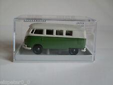 "VW T1b ""Economy"" Verde / gris, H0 Auto Modelo 1:87 , Brekina 31553"