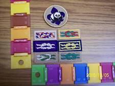 BSA Patch: Mint=NIP=BSA 6 KNOTS+WCP= LOT OF 7EA/CSTORE!