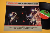 Herbie Mann LP Live Whisky a Go Top Jazz Orig USA EX! *New*