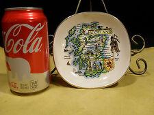 "Vintage Scotland WEATHERBY HANLEY ENGLAND ROYAL FALCON WARE 4 7/8""x4 7/8"" Plate"