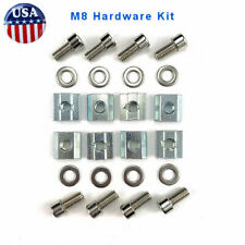 M8 T-Nut Hardware Kit 4040 4080 8080 / Aluminum Profile Extrusion (24 Pieces)