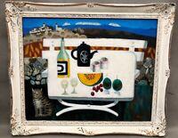 Surrealist Oil Painting on Board - MARY FEDDEN, OBE RA RWA (1915 – 2012)