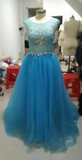 Blue Prom Dress size14-16