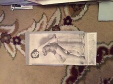 m57c ephemera 1950s picture vera miles and tarzan gordon scott