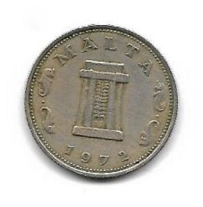 1972 Maltese 5 cents.    (59)