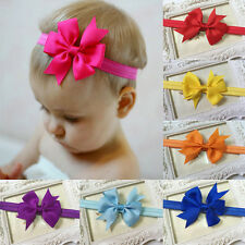 10PCS Lot Charm Headband Kids Girl Baby Toddler Bow Flower Hair Band Headwear FT