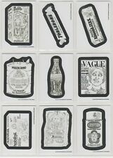 2017 Wacky Packages Old School 6th Series 6 Rough Pencil Sketch Set 30/30 NM