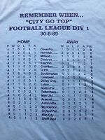 COVENTRY CITY FOOTBALL CLUB (TOP OF THE LEAGUE) T SHIRT
