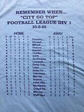 COVENTRY CITY FOOTBALL CLUB (parte superiore della lega) T SHIRT