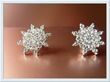 Gorgeous Diamante Earrings,Snowflake,Studs,Fashion,Christmas Gift,Elegant,