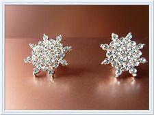 Gorgeous Diamante Earrings,Snowflake,Studs,Fashion,Christmas Gift,Elegant,