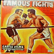 Famous Fights Great Lightweight Bouts Castle Films 8mm No. 3015
