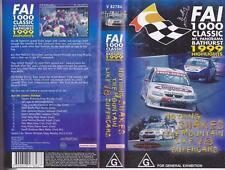 MOTOR SPORT  FAi 1000 BATHURST 1999  HIGHLIGHTS VHS VIDEO PAL  A RARE FIND