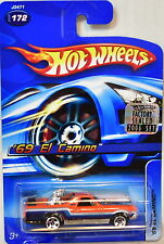 HOT WHEELS 2006 '69 EL CAMINO #172 ORANGE FACTORY SEALED