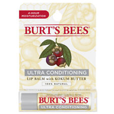 6 x 4.25g Burts Bees Lip Balm Ultra Conditioning with Kokum Butter Tube
