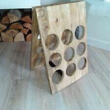 Weinregal Weinständer Flaschenregal Klappregal Weinflaschen Holz Wein Regal ❤