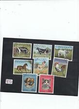 280947 / Fauna Hund Katze Kuh Pferd Panama gestempelt