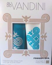 2 er Geschenkset Aldo Vandini Finnish Spa Bodyfluid Hair & Body wash nach Streß