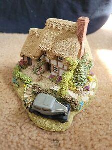 Lilliput Lane Cottage Figure Heaven Lea Cottage Deed Brochure Box