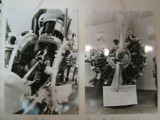Photo Pratt & Whitney R1348 engine, Open Dag KLu VLB Deelen 1978 2x