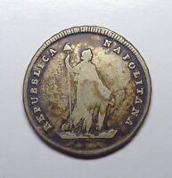 (1799) Naples - Parthenopean Republic 6 Carlini, KM-230.